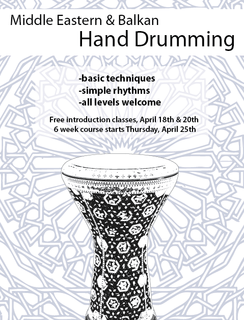 Middle Eastern Drumming Classes